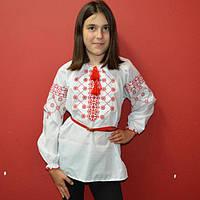 """Детская сорочка вышиванка для девочки """" Цветок"""""""