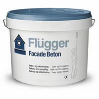 Краска для фасада латексная акриловая  Flugger Facade Beton 9,1л база 3/4  в темные тона