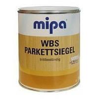 Паркетный полиуретановый лак на водной основе MIPA WBS Parketsiegel 10 л полуматовый
