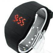 Сенсорные силиконовые часы Silicone LED Watch