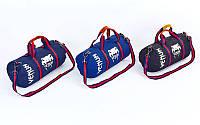Сумка спортивная (сумка бочонок) Vemun 0521 с длиной ручкой, 3 цвета: 54х24х24см