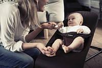 Портативный Детский Шезлонг Качалка Balance Soft Кресло для Малыша
