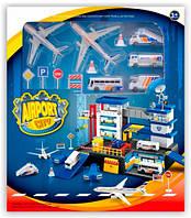 Игровой набор City Parking Аэропорт Dave Toy (32014)