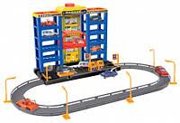 Игровой набор City Parking Гараж с треком с 6 машинками Dave Toy (32007)