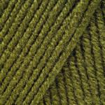 Пряжа для ручного вязания Yarnart Merino De Luxe 50 ( мерино де люкс 50) нитки зимняя пряжа 530 хаки