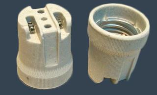 Электропатрон керамический Е27 ДК-017