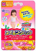 Трусики-подгузники для плавания Goo N для девочек 7-12 кг, ростом 60-80 см (размер M, 3 шт) Goo.N (853033)