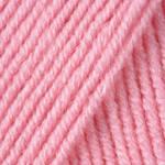 Пряжа для ручного вязания Yarnart Merino De Luxe 50(мерино де люкс 50)нитки зимняя пряжа 597 розовый