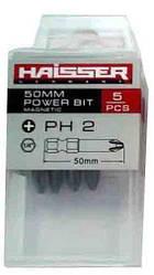 Набор бит Haisser PH2х50 мм