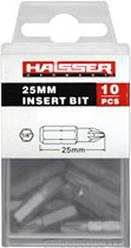 Набор бит Haisser PZ1х25 мм