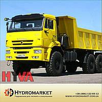 Гидравлика  Hyva на  КамАЗ 55111
