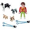 Игровой набор Девочка с собаками, Playmobil (5380)
