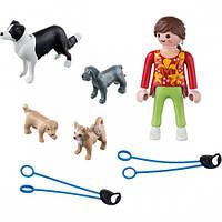 Игровой набор Девочка с собаками, Playmobil (5380), фото 1