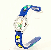 Часы детские на пластиковом ремешке