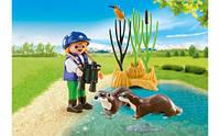Юний натураліст з видрами Playmobil (5376), фото 1