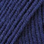 Пряжа для ручного вязания  Yarnart Merino De Luxe 50 ( мерино де люкс 50) зимняя пряжа  583 синий