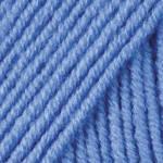 Пряжа для ручного вязания Yarnart Merino De Luxe 50 ( мерино де люкс 50)  зимняя пряжа  600  голубой