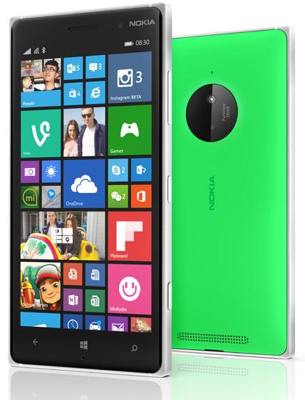 Смартфон Nokia Lumia 830 (Green)
