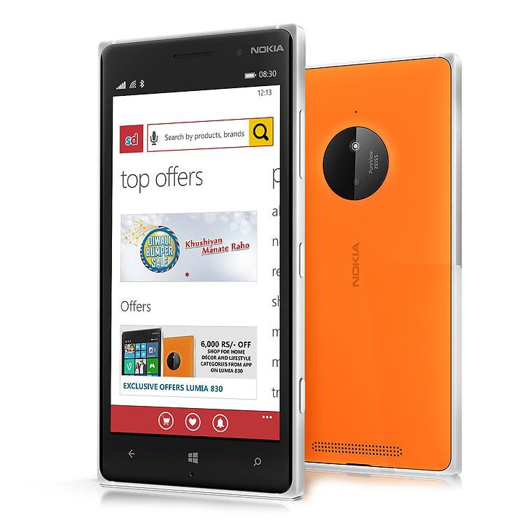 Смартфон Nokia Lumia 830 (Orange)