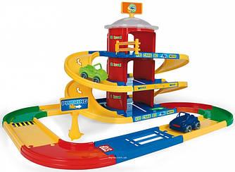 Kid Cars 3D детский паркинг 3 этажа  с дорогой 4,6 м (53040)