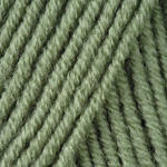 Пряжа для ручного вязания Yarnart  Merino De Luxe 50 ( мерино де люкс 50) зимняя пряжа 134 оливка