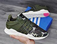 Мужские Кроссовки Adidas EQT Camo Khaki