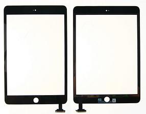Сенсор (тачскрін) для iPad mini 3 Retina чорний Оригінал