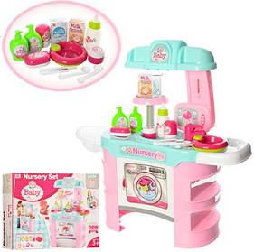 Игровой набор Кухня + Набор для ухода за малышом. 25 предметов 008-910