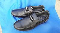 Кожаные туфли на мальчика Jordan 3703