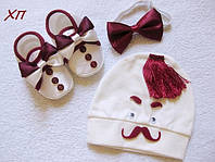 """Подарочный набор для мальчика на крещение, на праздник """"Джентельмен"""" Турция, фото 1"""