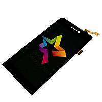 Дисплей (Модуль) для мобильного телефона Archos 50 Helium, черный, с тачскрином