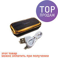 Портативная зарядка Power Bank MJ-02 8000 mAh Gold / Портативное зарядное устройство Power Bank