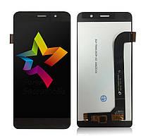 Дисплей (Модуль) для мобильного телефона Archos 50 Power, черный, с тачскрином
