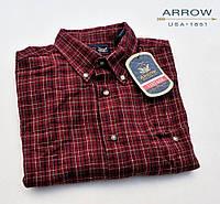 Рубашка Arrow® Vintage (M) с длинным рукавом/100% хлопок/Оригинал из США