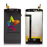 Дисплей (Модуль) для мобильного телефона Archos 50B Platinum, черный, с тачскр, ORIG