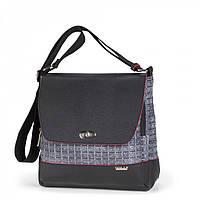 Женская сумка Dolly 643 молодежная на ремне 26 см х 25 см х 15 см