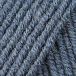 Пряжа для ручного вязания Yarnart  Merino De Luxe 50 ( мерино де люкс 50) зимняя пряжа 3864 джинс