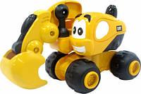 Инерционная техника САТ для малышей Экскаватор Дэйв, 9 см Toy State (80404)