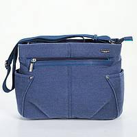 Женская сумка Dolly 644 молодежная на ремне 31 см х 22 см х 14 см