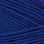 Пряжа для ручного вязания Yarnart Merino De Luxe 50(мерино де люкс 50) зимняя пряжа  152 темно синий