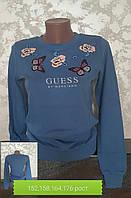 Подростковый реглан для девочек Guess джинс