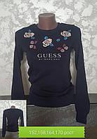 Школьный реглан для девочек Guess