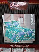 Махровое постельное белье Polents Евро размера
