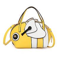 Желтая сумка Пчелка