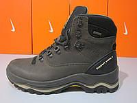 Мужские ботинки зимние Grisport  Red Rock 11205 (коричневые нубук)