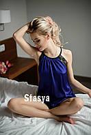 Женская пижама атлас № 027 (ста)