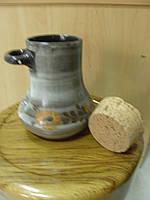 Кувшин керамический старинный, Франция, фото 1