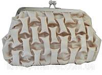 Модные клатчи Арт 8225-2 Клатч золото