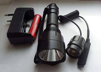 Тактический фонарь UltraFire С8