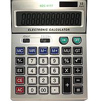 Калькулятор SDC- 8177 с прозрачными кнопками (200x155)
